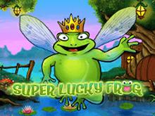 Онлайн игра в азартный автомат Удачливая Лягушка