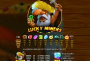 Игровой автомат Lucky Miners
